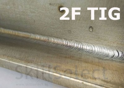 2F TIG stainless steel