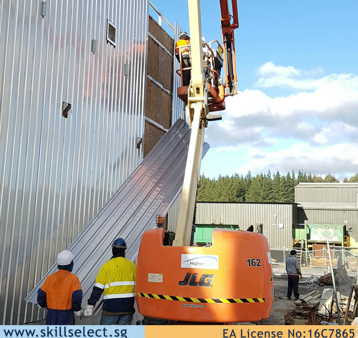 lifting cladding NZ